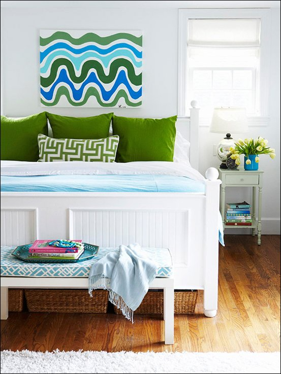 Best Kids Bedrooms Blue And Green Exotic House Interior Designs With Pictures