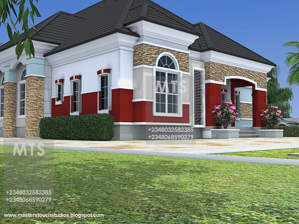 Best Mr Chukwudi 5 Bedroom Bungalow Modern And Contemporary With Pictures