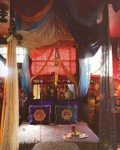 Best Drowning In A Boho Canopy Bed The House Of Boho With Pictures