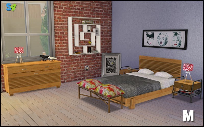 Best My Sims 4 Blog Boston Bedroom Set By Mango Sims With Pictures