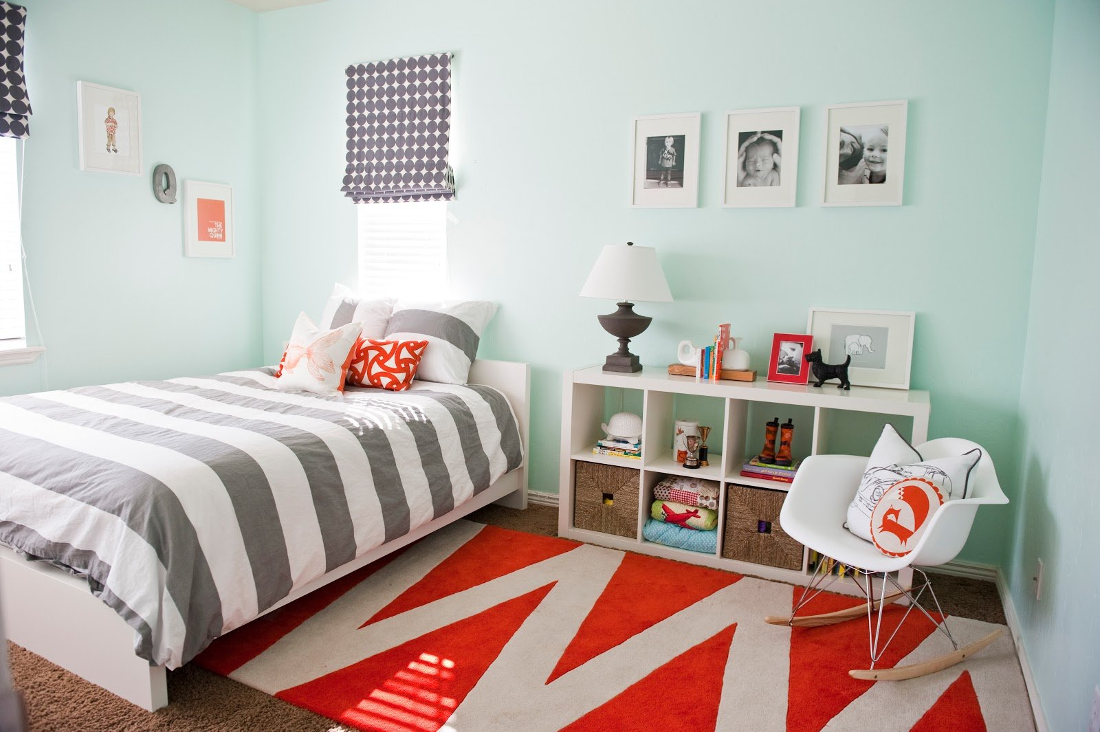 Best Gray Orange Bedroom Before And After House Of Jade With Pictures