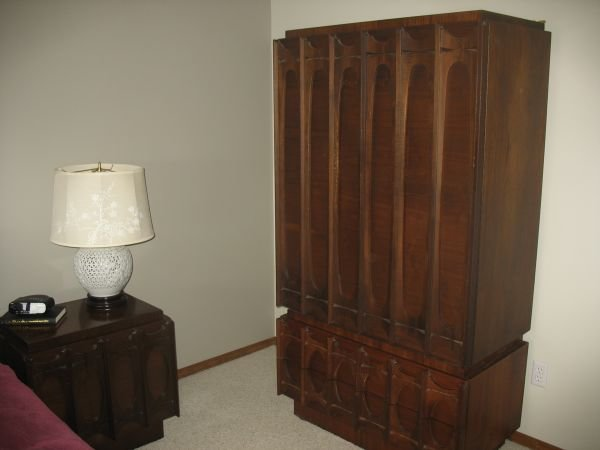 Best Mid Century Sensibilities Brutalist Bedroom Set Find On With Pictures