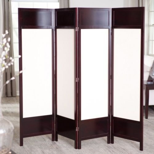 Best Room Divider Screen 4 Panel Partition Wood Living Room With Pictures