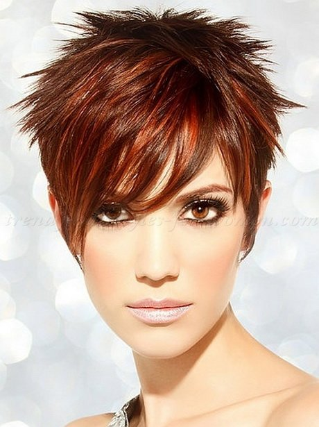 Free Spiky Short Hairstyles For Women Wallpaper