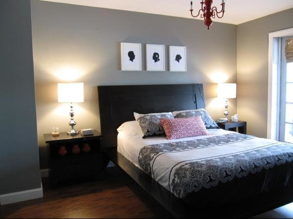 Best Color Scheme Red And Grey Eclectic Living Home With Pictures