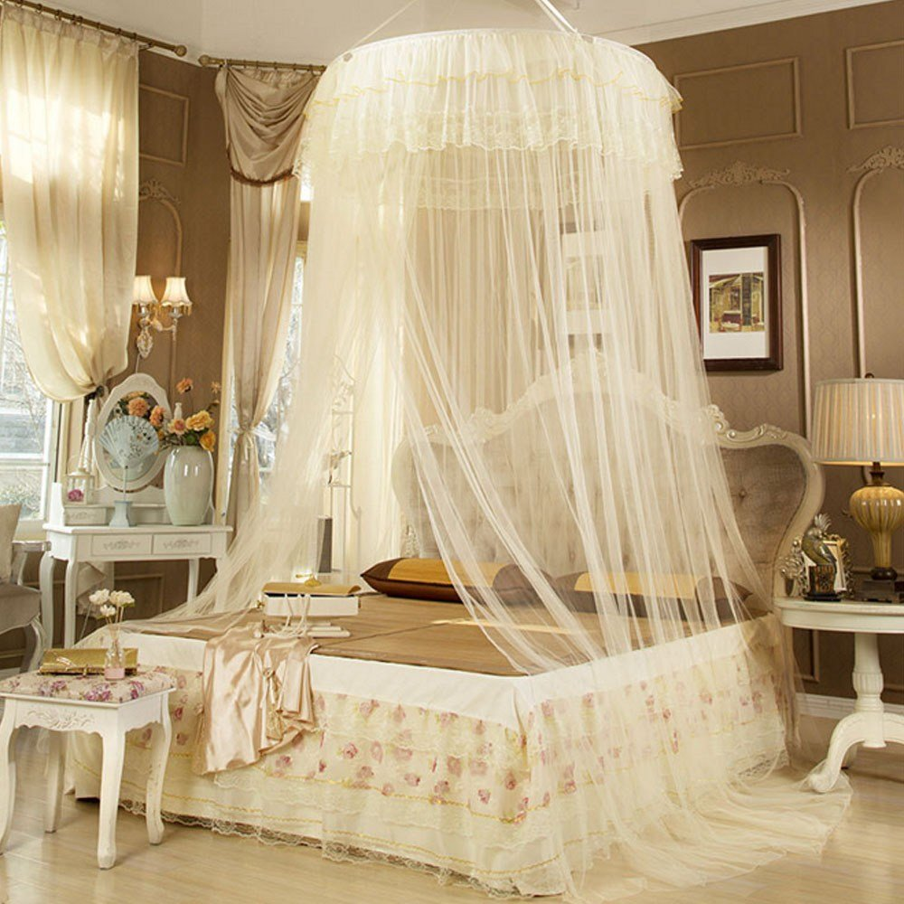 Best Fashion Princess Bed Canopy Mosquito Net Netting New With Pictures