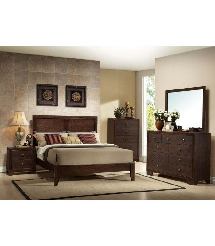 Best 4 Pc Queen Size Bedroom Set By Madison Collection Us With Pictures