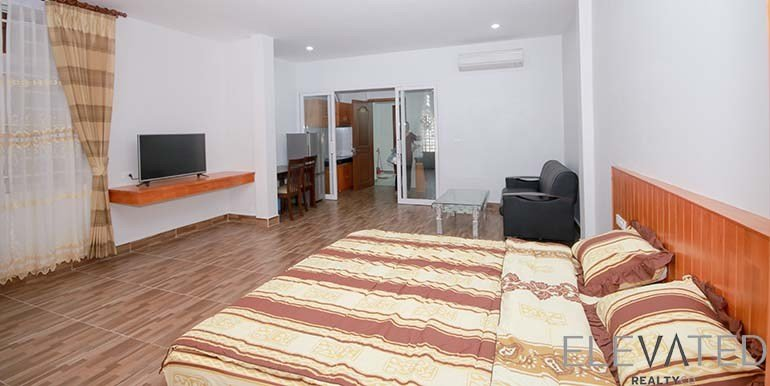 Best Olympic Stadium Studio Apartment Rental In Boeng Prolit With Pictures