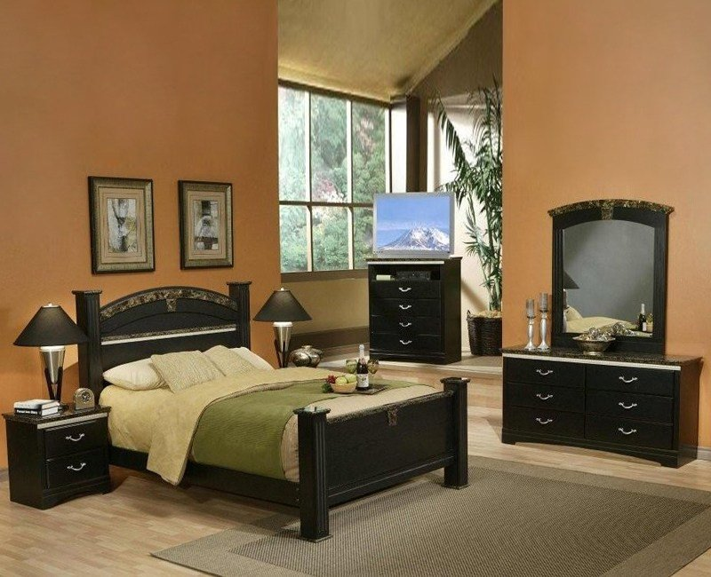 Best La Jolla Morena Bedroom Set Furniture 4 Less Dallas With Pictures