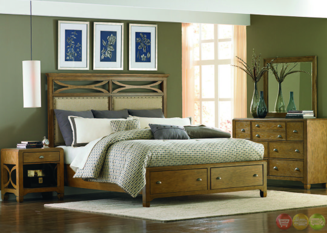 Best Town And Country Distressed Finish Storage Bedroom Set With Pictures