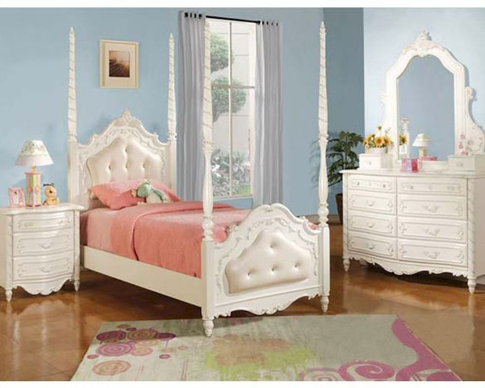 Best Acme Furniture Bedroom Set In Pearl White Ac11000Tset With Pictures