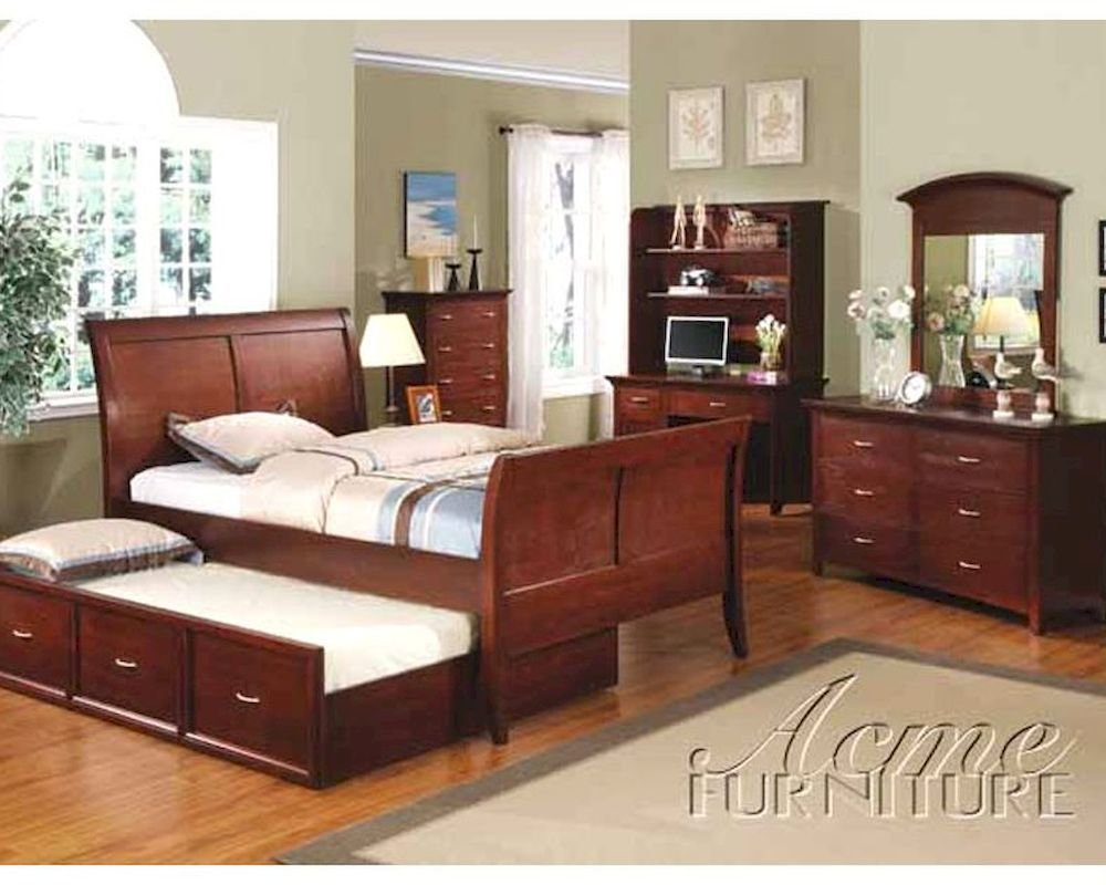 Best Acme Furniture Bedroom Set In Wenge Ac08345Tset With Pictures