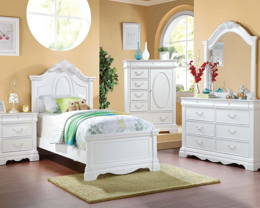 Best Acme Girl S Bedroom Set Estrella Ac30240Set With Pictures