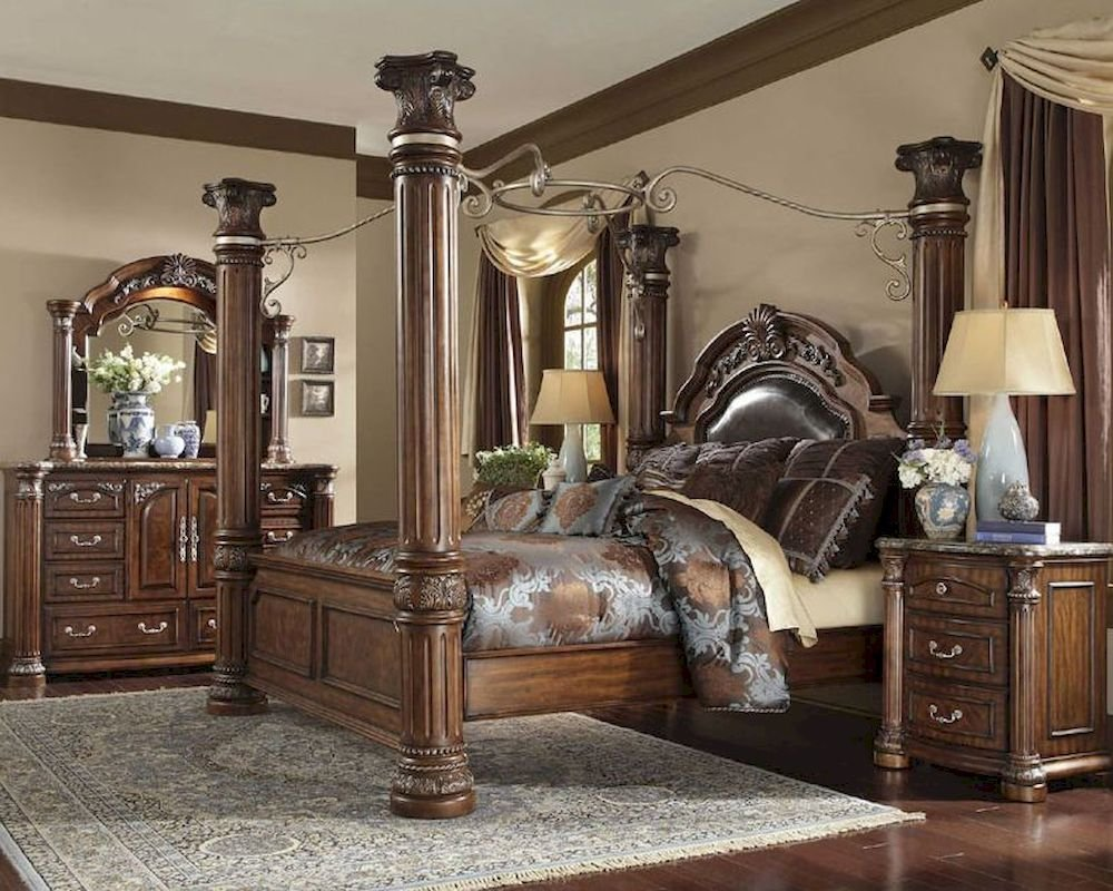 Best Aico Poster Bedroom Set Monte Carlo Ii Ai N530 With Pictures