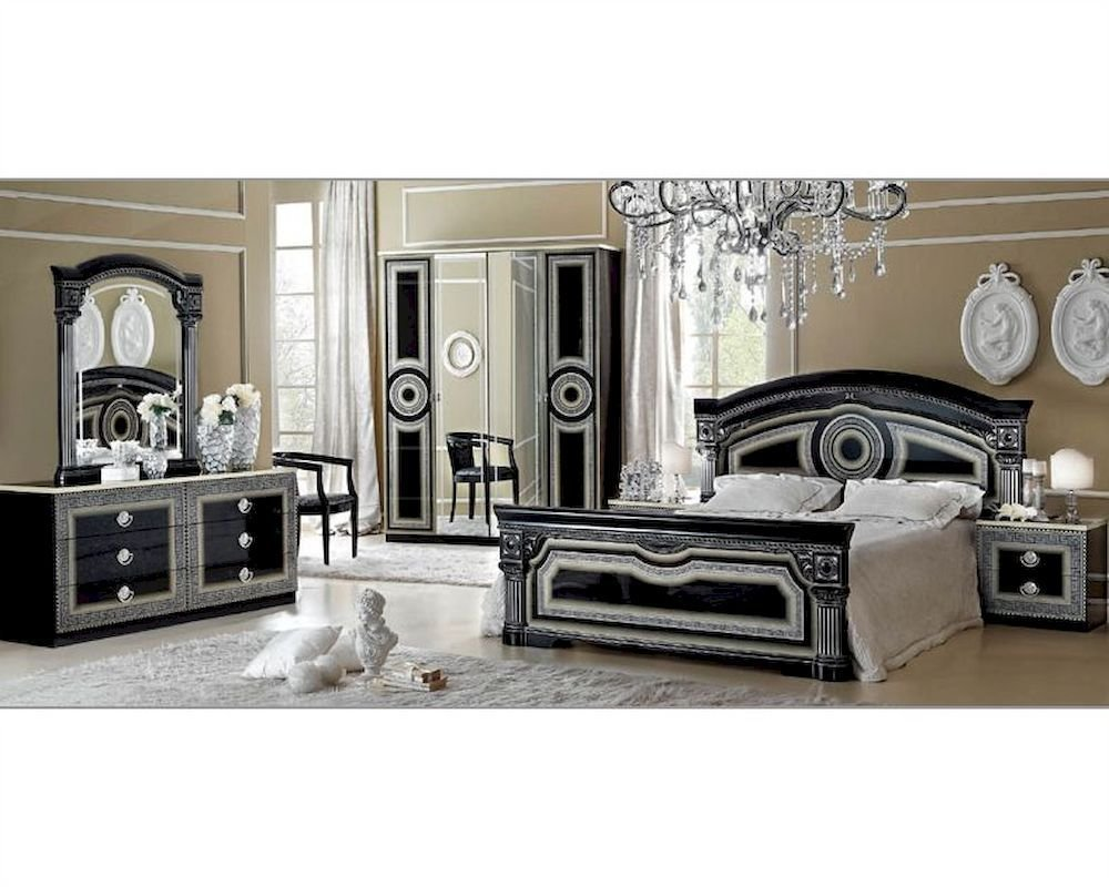 Best Classic Bedroom Set Made In Italy Aida 3313Ad With Pictures