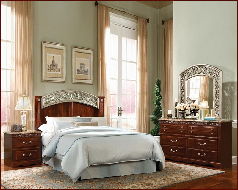 Best Standard Furniture Poster Bedroom Set Triomphe St 572Poster With Pictures