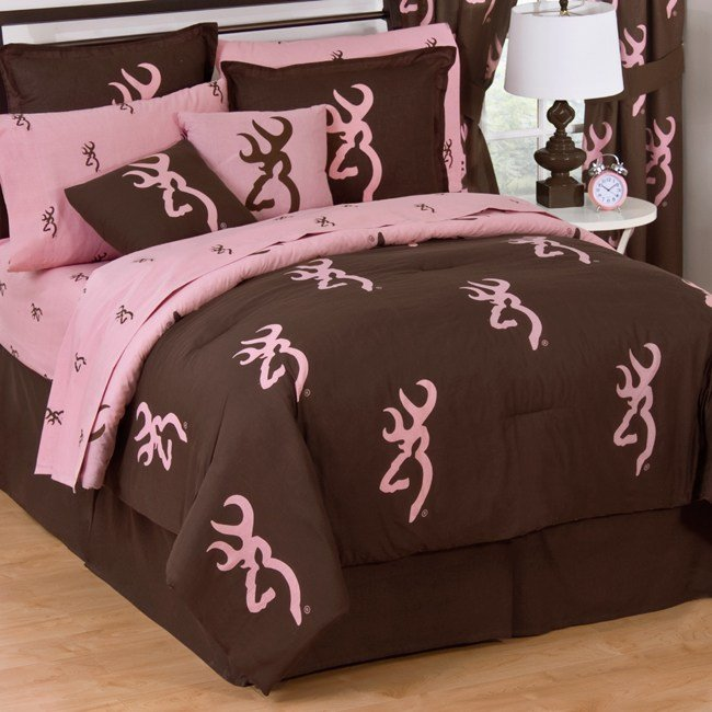 Best Pink Camo Bedding Browning Pink Buckmark Bedding With Pictures