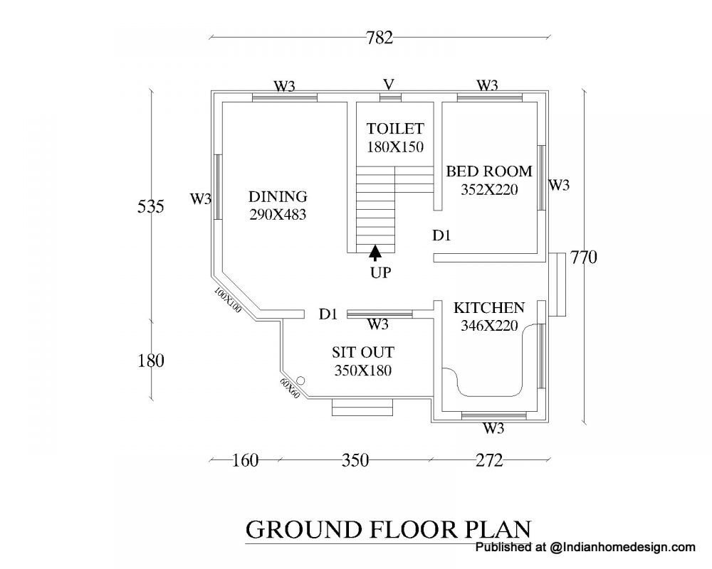 Best Small House Plans Indian Style 3 Bedroom House Plans India With Pictures