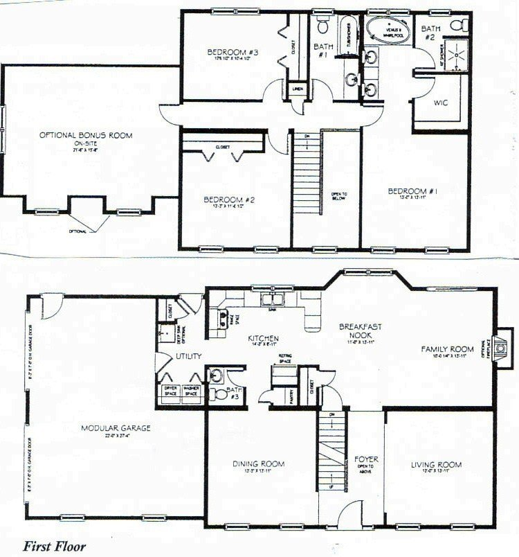 Best 2 Story 3 Bedroom House Plans Vdara Two Bedroom Loft 3 With Pictures