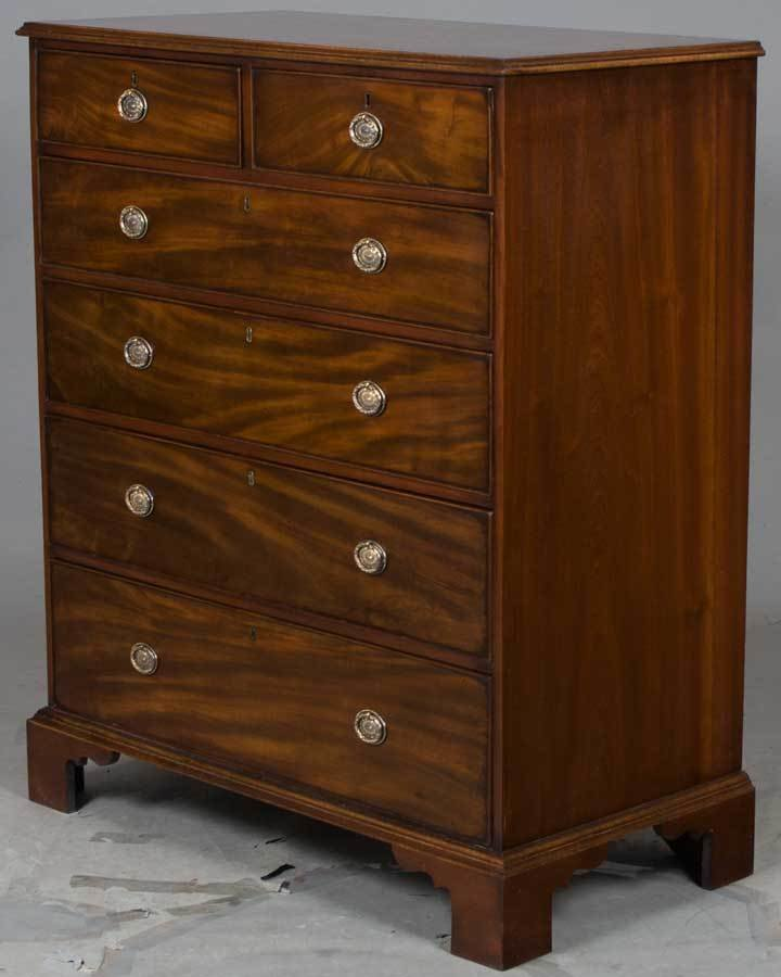 Best Large Antique Mahogany Chest Of Drawers Bedroom Dresser With Pictures
