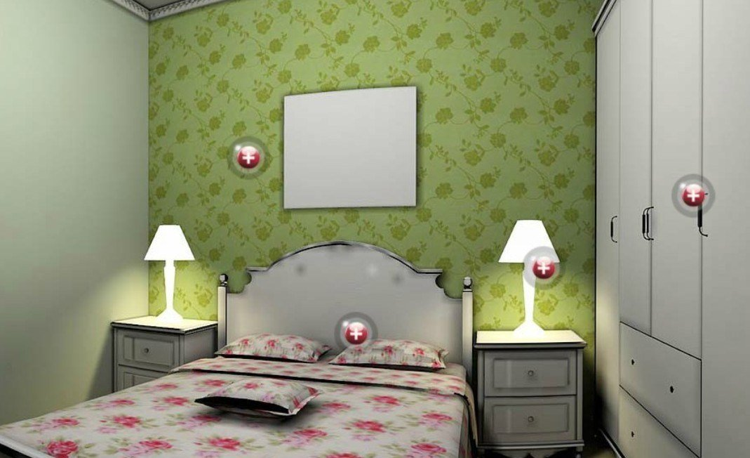 Best Bedroom Wallpaper Green 21 Home Ideas Enhancedhomes Org With Pictures