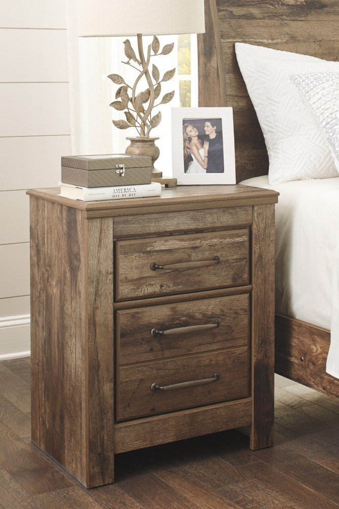 Best Blaneville Brown Two Drawer Night Stand B224 92 With Pictures