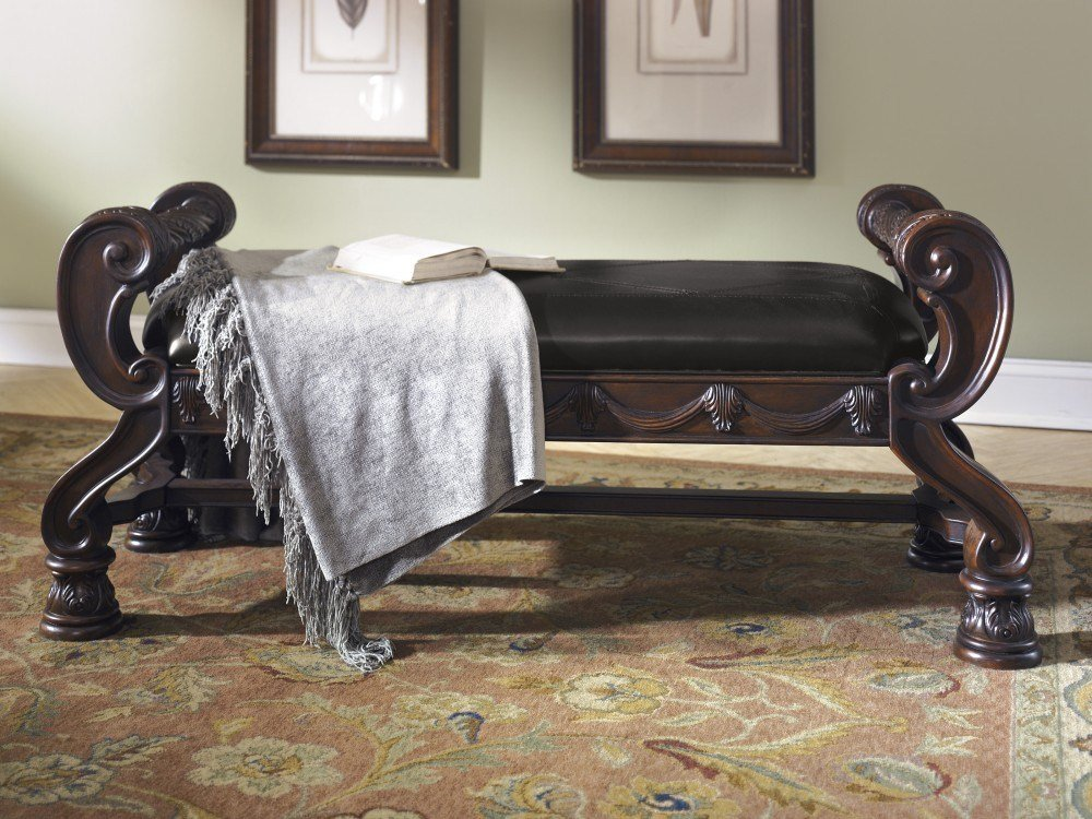 Best North Shore Large Uph Bedroom Bench B553 09 Bedroom With Pictures