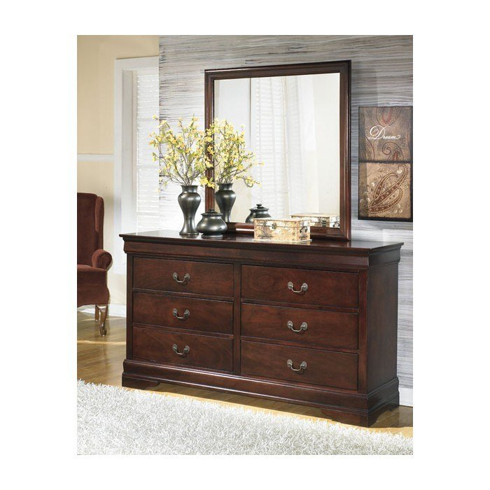 Best Alisdair Dresser Mirror B376 31 36 Bedroom Dressers With Mirrors Price Busters Furniture With Pictures
