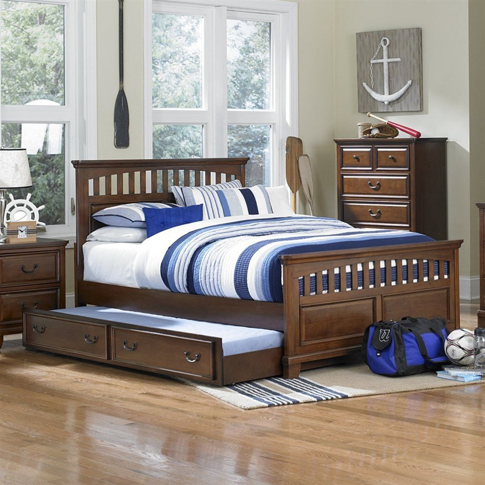 Best Tyler Mission Bedroom Set Brown Dcg Stores With Pictures