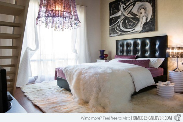 Best 15 Stunning Black White And Purple Bedrooms Decoration With Pictures