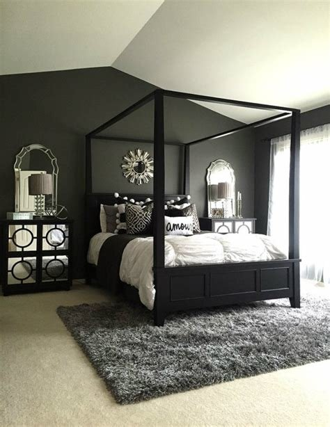 Best Feel Dark With These Black Décor Ideas To Your Master Bedroom With Pictures