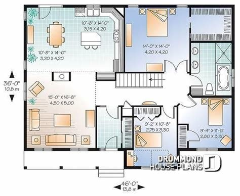 Best House Plan W2185 V2 Detail From Drummondhouseplans Com With Pictures