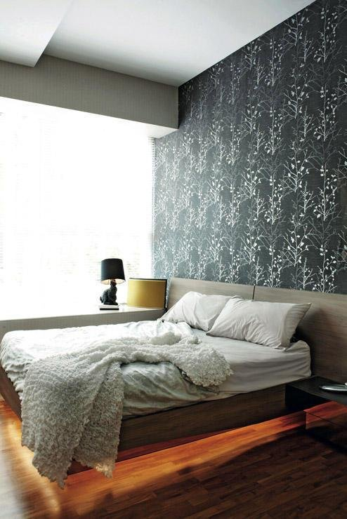 Best Bedroom Design Ideas 5 Bedrooms With Wallpaper Feature Walls Home Decor Singapore With Pictures