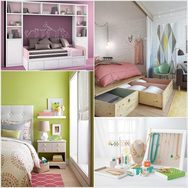 Best 10 Clever Storage Hacks For A Tiny Bedroom Home Decor With Pictures