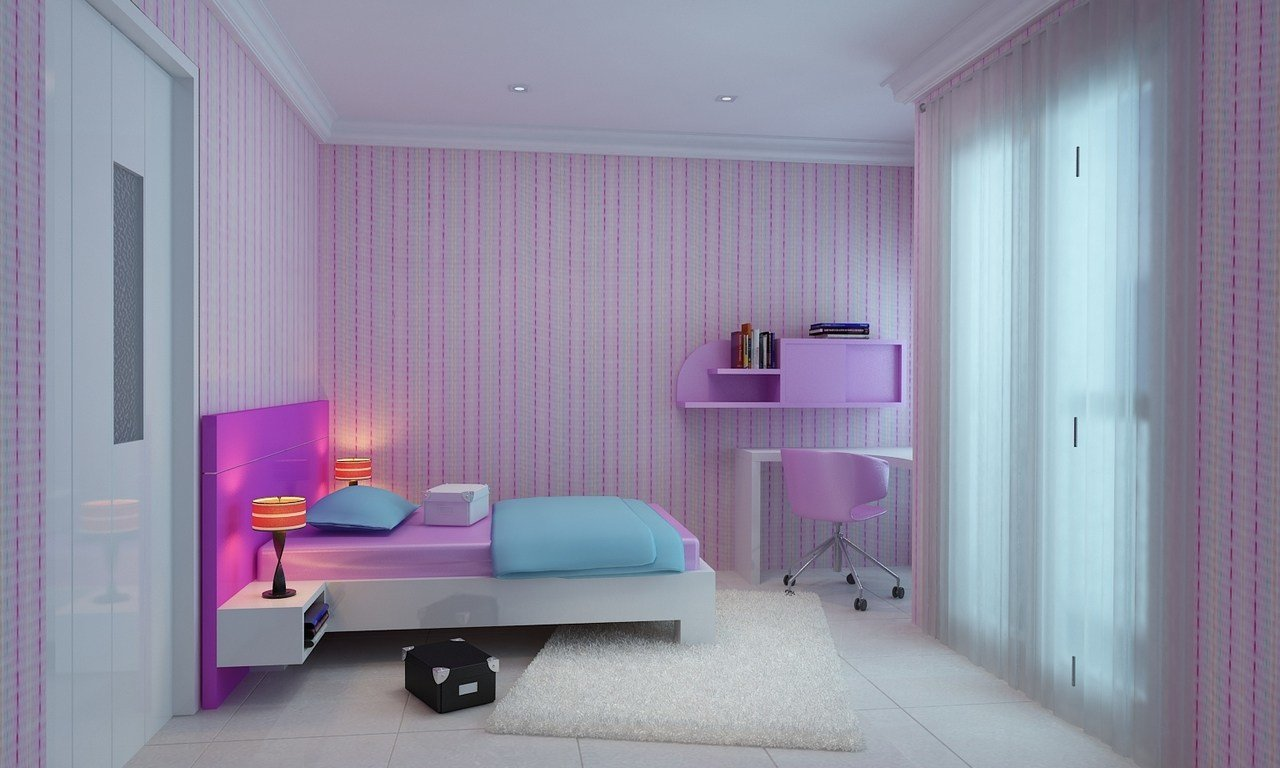 Best Light Pink And Purple Girl Rooms Interior Designs With Pictures