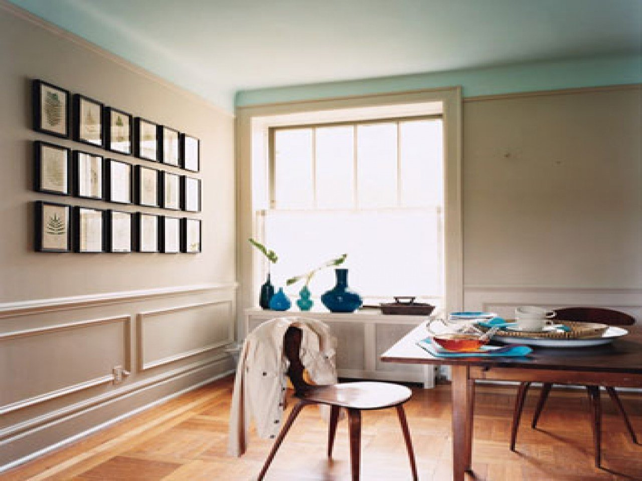 Best Dining Room Taupe And Blue Rooms Pictures Decorations With Pictures