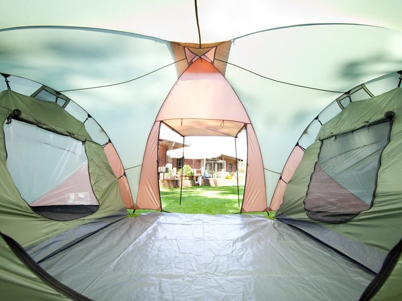 Best Skandika Daytona Xxl 6 Person Man Family Dome Tent 3 With Pictures