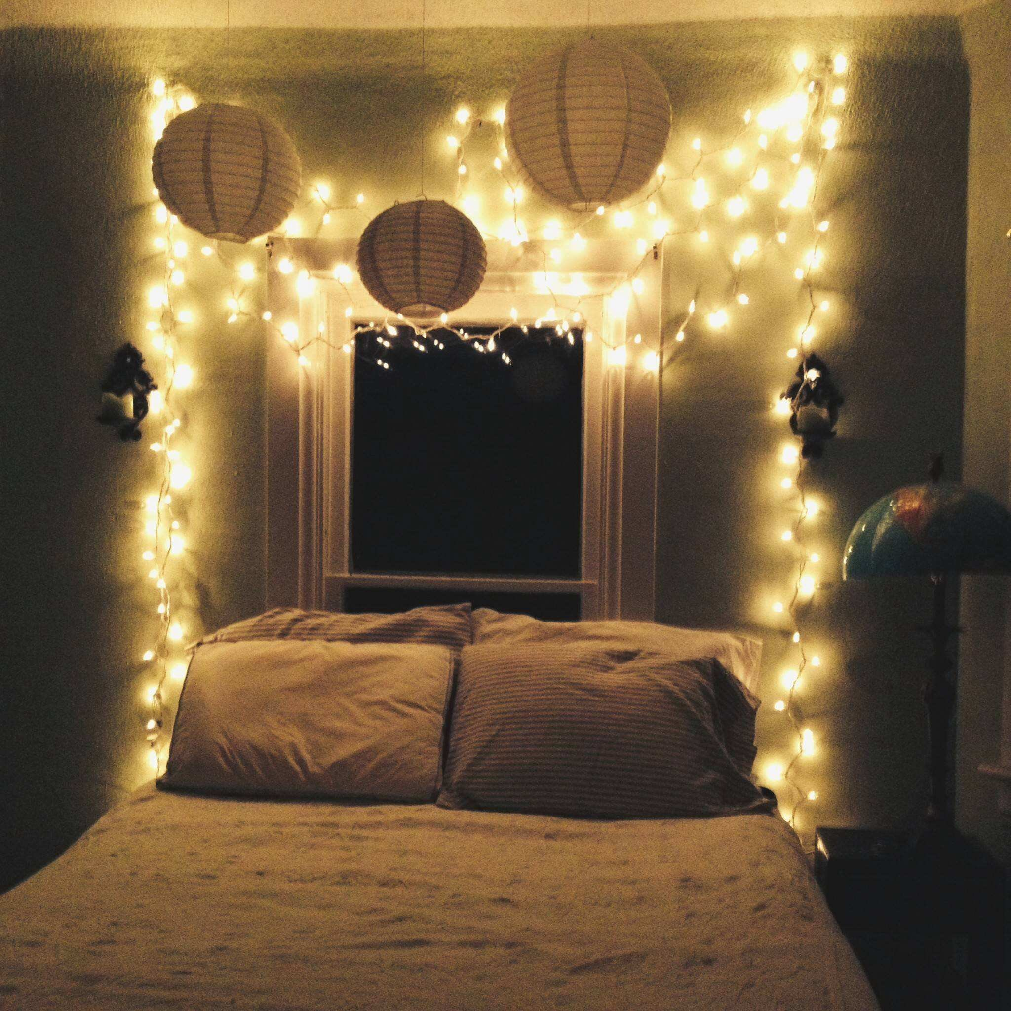 Best Bedroom Lighting Star Fairy Lights For String Tumblr With Pictures