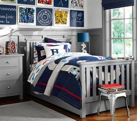 Best Elliott Bed Charcoal Pottery Barn Kids Au With Pictures