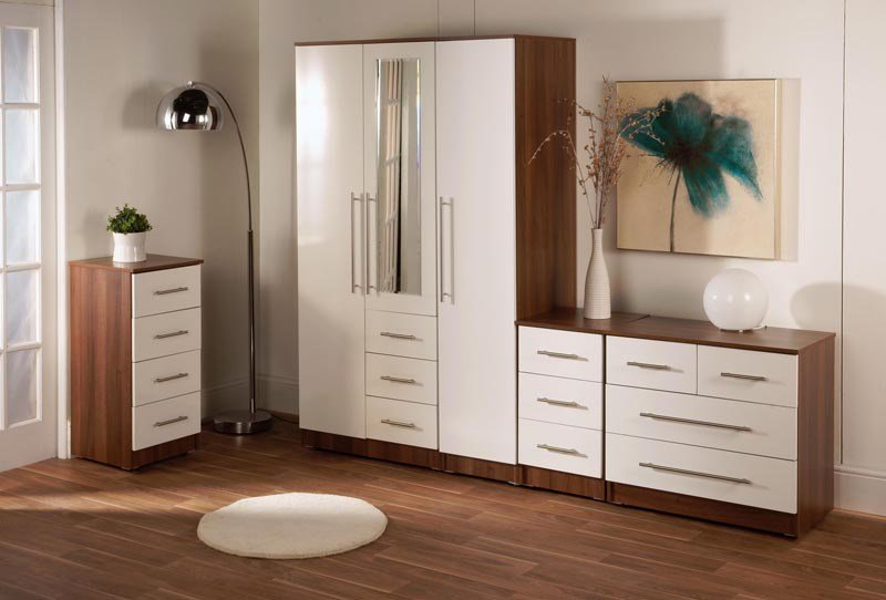 Best Veneto Bianco Bedroom Furniture Collection High Gloss With Pictures