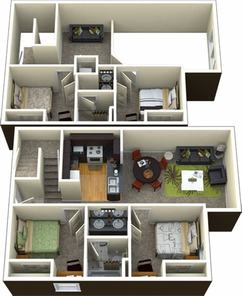 Best 4 Bedroom 2 Bathroom Loft With Pictures