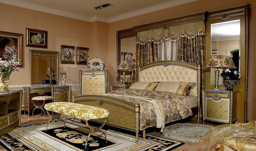 Best Versailles Bedroom Collection Classic Bedroom With Pictures
