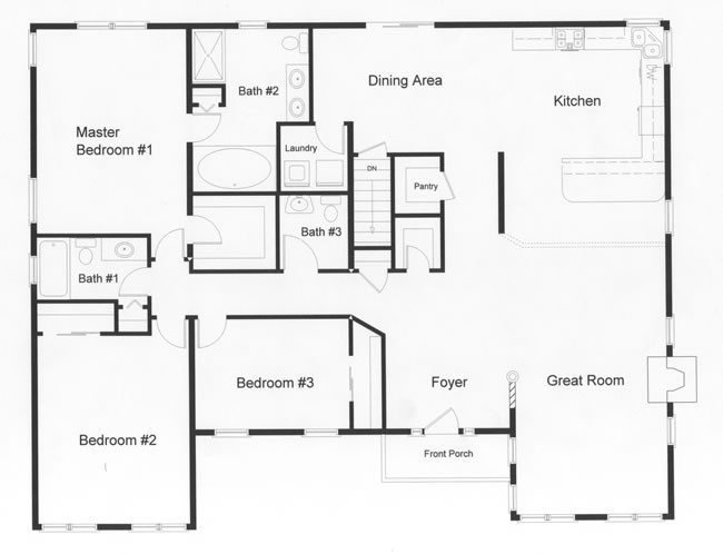 Best Of 3 Bedroom Modular Home Floor Plans New Home Plans Design With Pictures