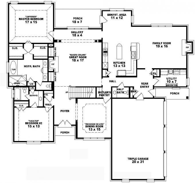 Best Lovely 2 Story 4 Bedroom House Floor Plans New Home Plans Design With Pictures