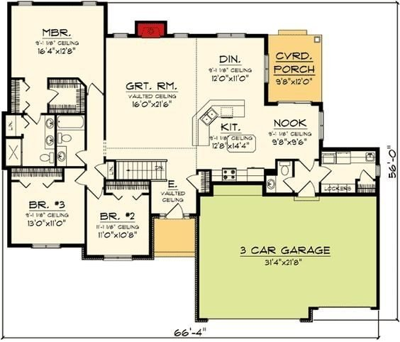 Best New 3 Bedroom House Plans With Bonus Room New Home Plans With Pictures