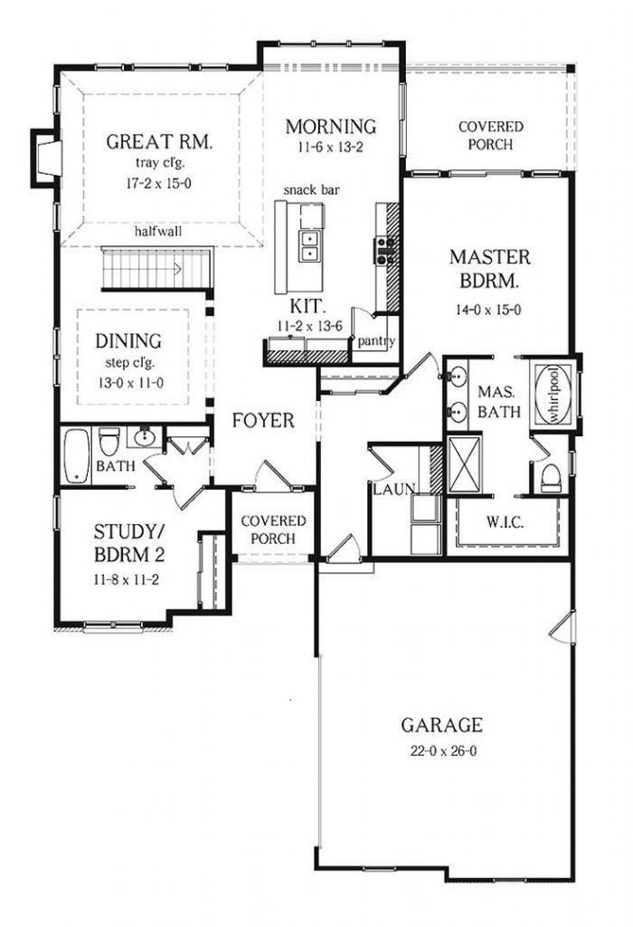 Best Luxury 2 Bedroom House Plans With Basement New Home With Pictures