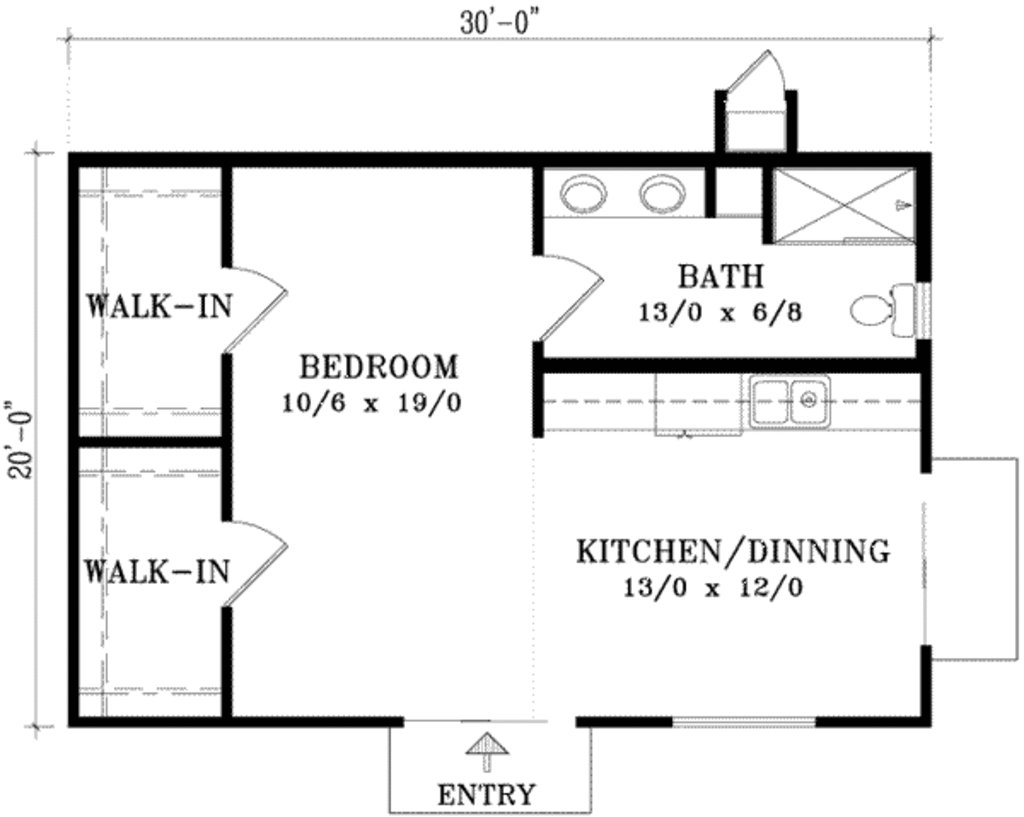 Best 20 X 30 Plot Or 600 Square Feet Home Plan Acha Homes With Pictures