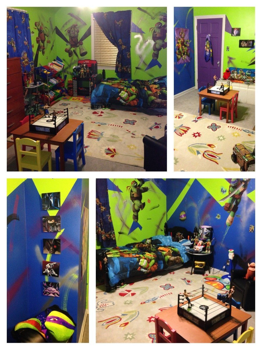 Best Ana White Teenage Mutant Ninja Turtle Bedroom Diy Projects With Pictures