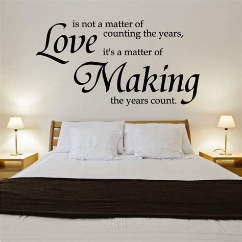 Best Good Wall Quotes For Romantic Bedroom Themes With Small With Pictures