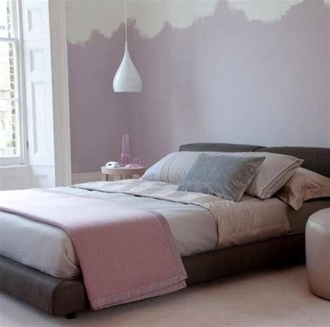 Best Soft Purple Wall Paint Color And Elegant Platform Bed For With Pictures